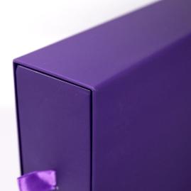 外盒- 溼裱精裝抽屜盒局部